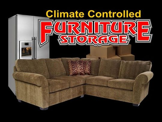 Climate controlled Furniture Storage